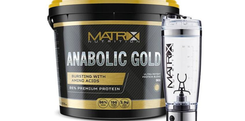 £26.99 (from Matrix) for 1kg of Matrix anabolic gold and Vortex mixer from Wowcher