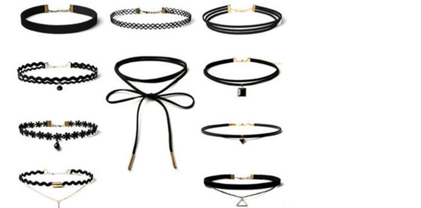 £4.99 instead of £34.99 for a 10pc Choker Set from London Exchain Store - save 86% from Wowcher