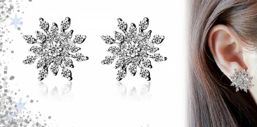 £5.99 instead of £9.99 for a pair of crystal earrings with free p&p from GetGorgeous - save 40% from Wowcher