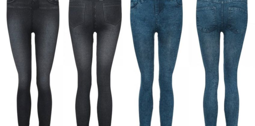 £5 instead of £19.99 (from MBLogic) for a pair of stretch jegging jeans - choose from three colours & save 75% from Wowcher