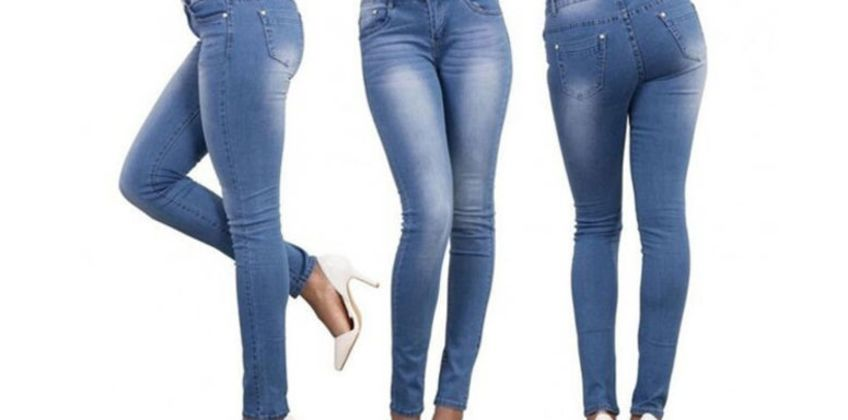 £12.99 instead of £39.99 (from MBLogic) for a pair of high waist button jeans - save 68% from Wowcher