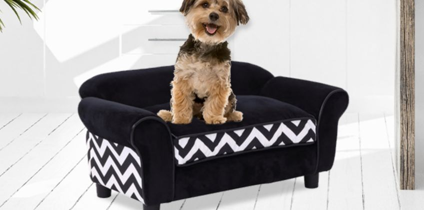 £34.99 instead of £100.99 (from MH Star) for a Pawhut luxury pet sofa - save 65% from Wowcher