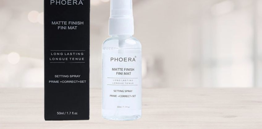From £5.99 for 1, 2 or 3 Phoera Matte Makeup Setting Spray from Forever Cosmetics - save up to 40% from Wowcher