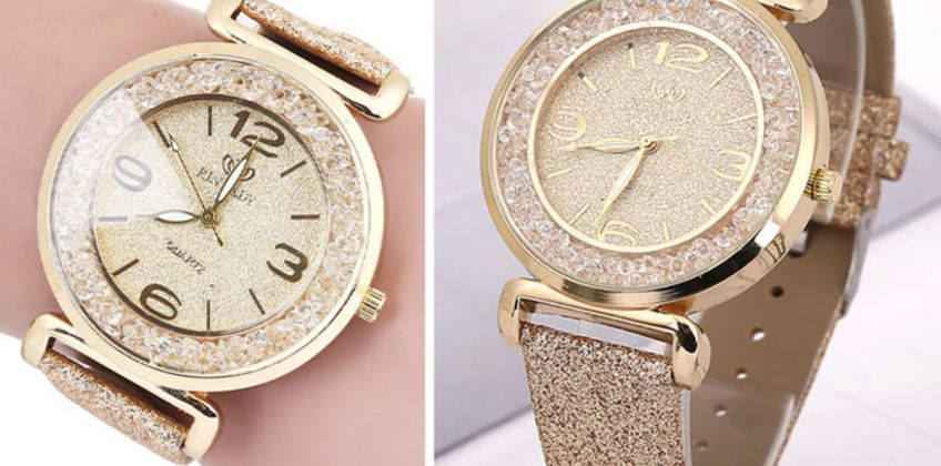 £16 instead of £99.99 (from Taylors) for a ladies sparkle crystal watch - save 84% from Wowcher