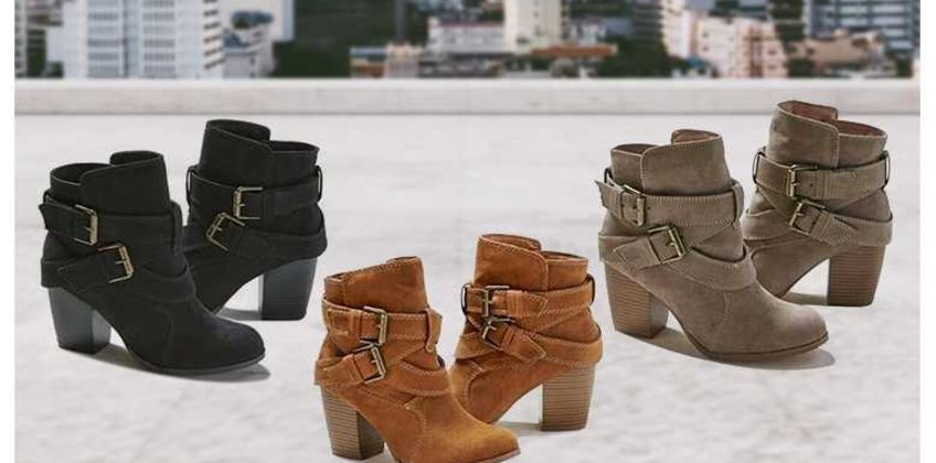 £14.99 instead of £39.99 (from Backtogoo) for a pair of buckle heeled boots! - save 62.52% from Wowcher