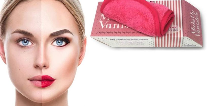 £2.99 instead of £14.99 for a Miss Pouty Hypoallergenic Makeup Vanisher Cloth from Forever Cosmetics - save 80% from Wowcher