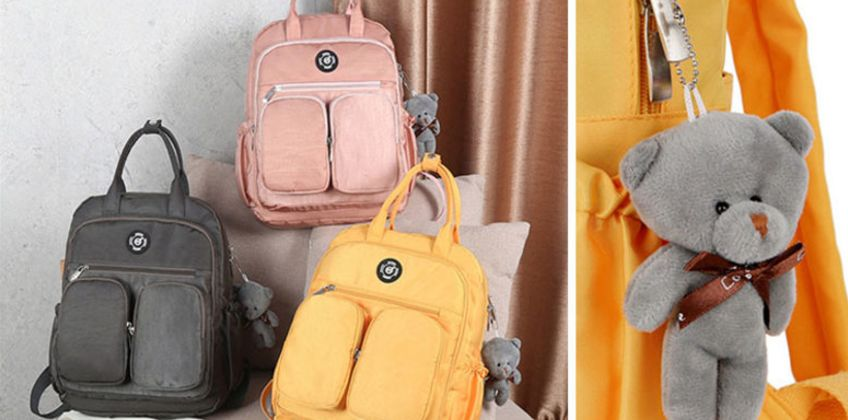 £12.99 instead of £29.99 (from WowWhatWho) for a nylon waterproof cute backpack - save 57% from Wowcher