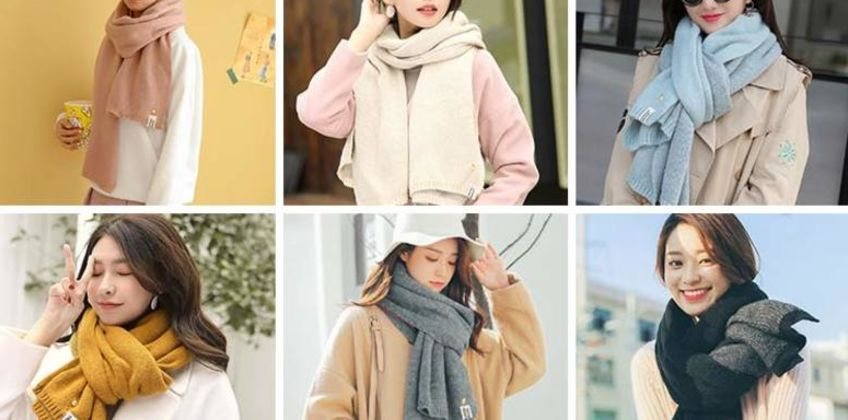 £8.99 instead of £29.99 (from Backtogoo) for a ladies cashmere scarf – choose from six colours and save 70%  from Wowcher