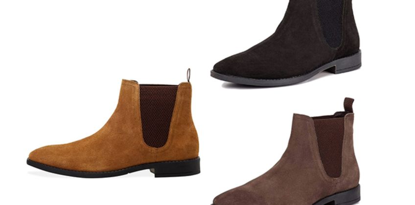 £29.99 instead of £140 (from Redfoot) for a pair of men's suede square toe Chelsea boots - save 79% from Wowcher