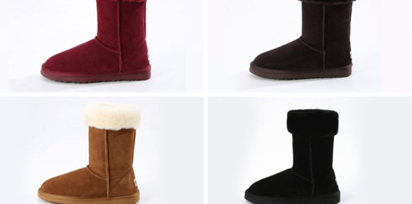 £39.99 instead of £146.01 (from Evaniy) for a pair of sheepskin collar boots - save 73% from Wowcher