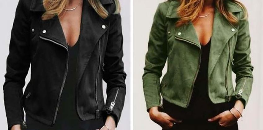 £12 instead of £29.99 (from MBLogic) for a women's casual zipper jacket - choose from three sizes and four colours and save 60% from Wowcher
