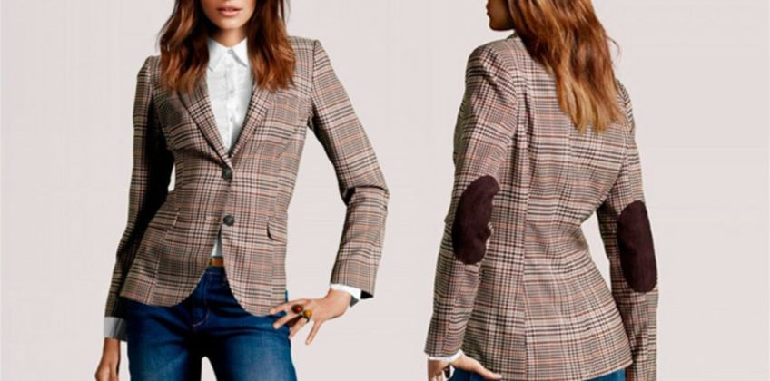 £19.99 (from My Blufish) for a plaid blazer - choose your UK size  from Wowcher