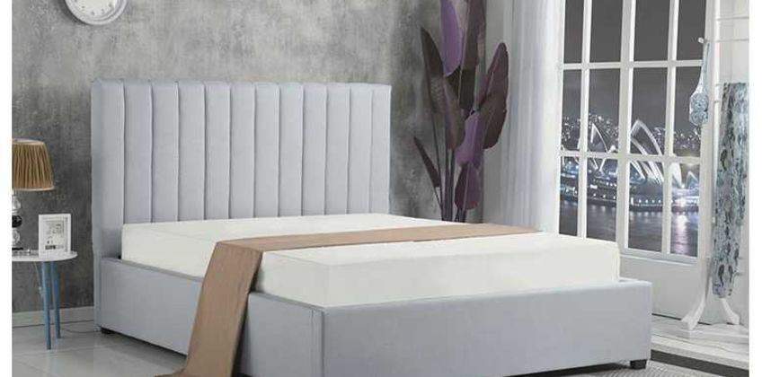 From £189 (from The Mattress) for a double fabric gas lift ottoman bed or £279 for a bed and mattress - choose your colour and size and save up to 87% from Wowcher
