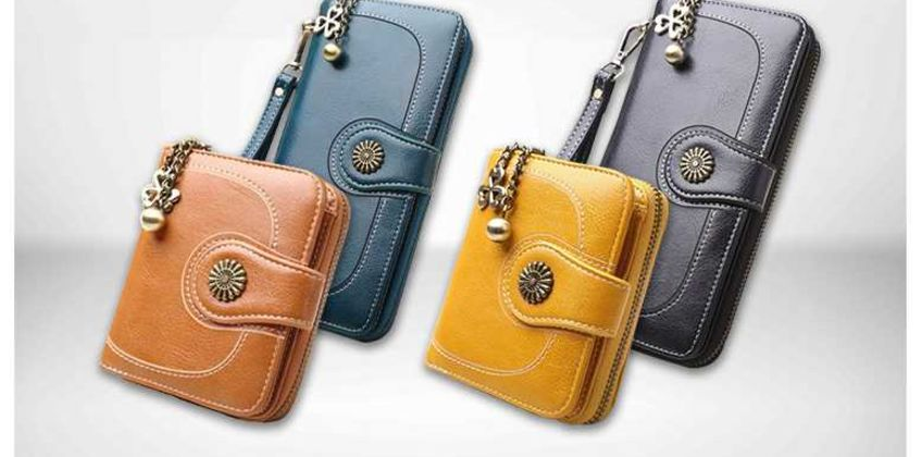 From £9 instead of £29.99 (from WowWhatWho) for a vintage-look faux leather women's wallet - choose from two sizes and save up to 70% from Wowcher