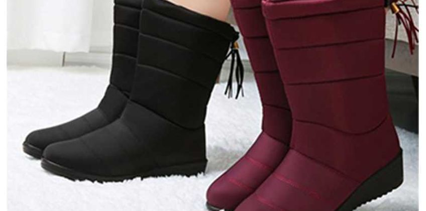 £16 instead of £39.99 (from Pinkpree) for a pair of warm faux fur lined boots - choose your colour and UK size and save 60% from Wowcher
