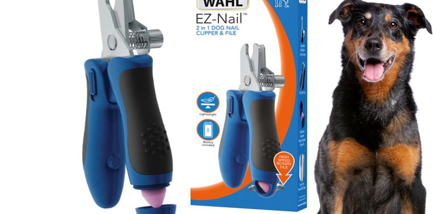 £9.99 instead of £12.54 (from Wahl) for an E-Z pet nail clipper and file - save 20% from Wowcher