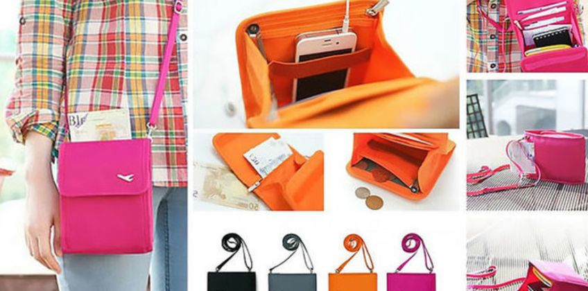 From £4.99 for a travel document handbag - 4 colours! from London Exchain Store - save up to 75% from Wowcher