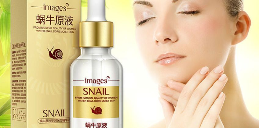 £6.99 instead of £12.99 for a snail extract and hyaluronic acid face serum from GetGorgeous - save 46% from Wowcher