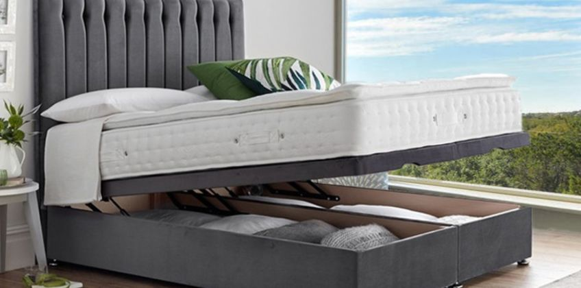 From £319 instead of £400 (from Serenity Designs) for an end-lift ottoman divan storage bed, or from £399 for a bed with a pillow-top pocket sprung mattress - choose from five sizes and eight colours and save up to 20% from Wowcher