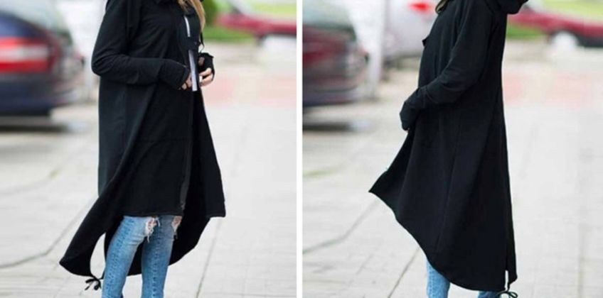 £16 instead of £39.99 (from Pinkpree) for a long hooded trench coat - choose from three colours - save 59.99% from Wowcher