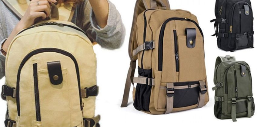 £9.99 for a men's shoulder backpack from Wowcher