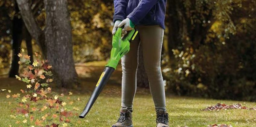£39 instead of £96.95 (from CJ Offers) for a garden gear 20V cordless lithium-ion leaf blower - save 60% from Wowcher
