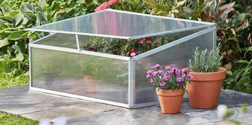 £39 instead of £69.99 (from CJ Offers) for a garden grow aluminium cold frame - save 44% from Wowcher