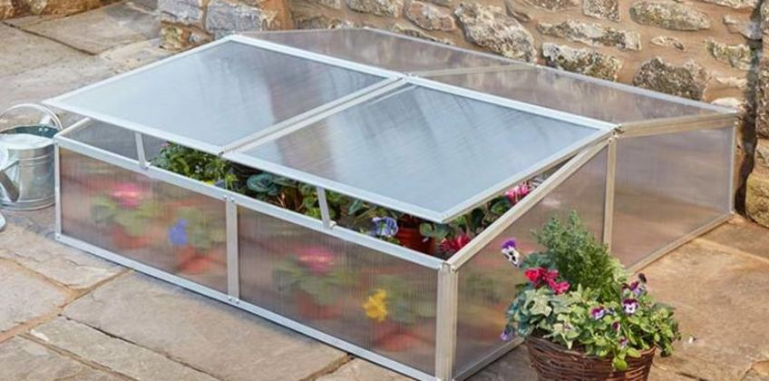 £65 instead of £149.95 (from CJ Offers) for a garden grow four vent aluminium cold frame - save 57% from Wowcher