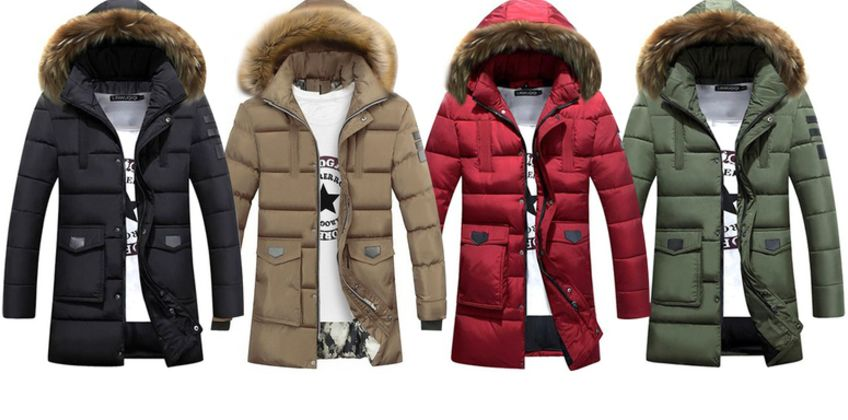 £22 instead of £69.99 (from My Blufish) for a men's hooded coat - choose your colour and size and save 69% from Wowcher