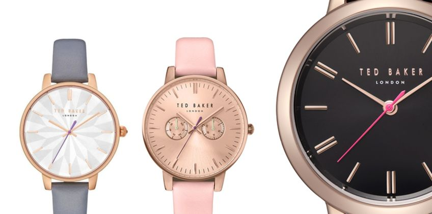 From £39.99 instead of £130.01 (from Brand Arena) for a Ted Baker ladies' watch - choose from 19 options & save 69% from Wowcher
