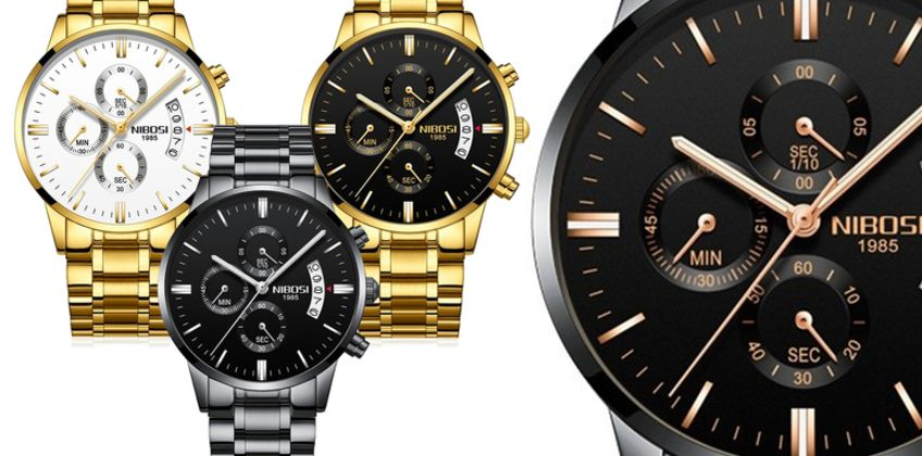£19.99 instead of £49.99 (from Who Got The Plan) for a men's luxury watch and gift box - save 60% from Wowcher