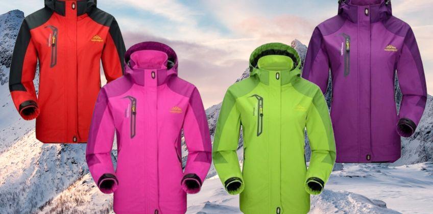 £24.99 instead of £59.99 (from MBLogic) for a women's windbreaker waterproof hooded jacket - save 58% from Wowcher