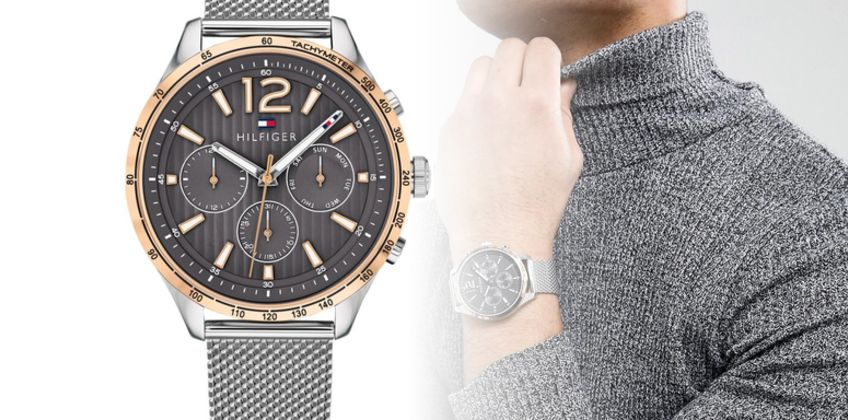 £109 instead of £393 (from Best Watch Company) for a Tommy Hilfiger 1791466 men's Gavin chronograph watch - save 72% from Wowcher
