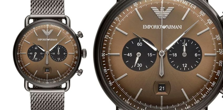 £139 instead of £389 (from Ticara Watches) for a Emporio Armani AR11142 men's chronograph watch - save 64% from Wowcher