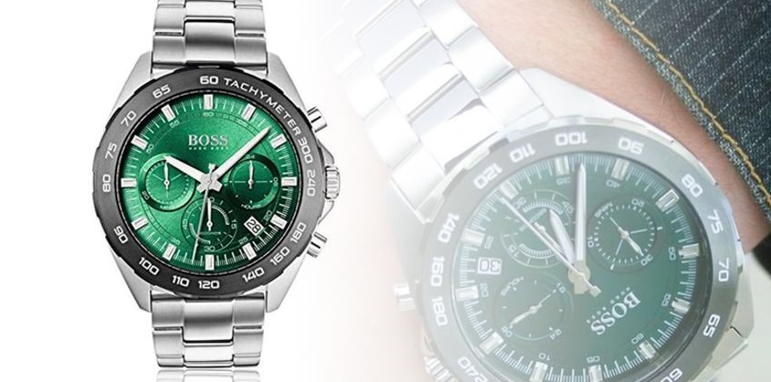 £139 instead of £493 (from Best Watch Company) for a Hugo Boss men's HB1513682 watch - save 72% from Wowcher