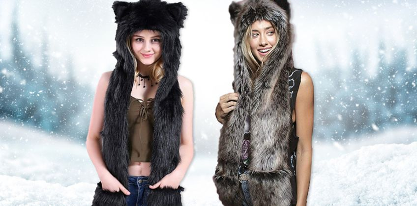£12.99 instead of £49.99 (from Magic Trend) for a 3-in-1 animal hat, scarf and gloves - save 74% from Wowcher