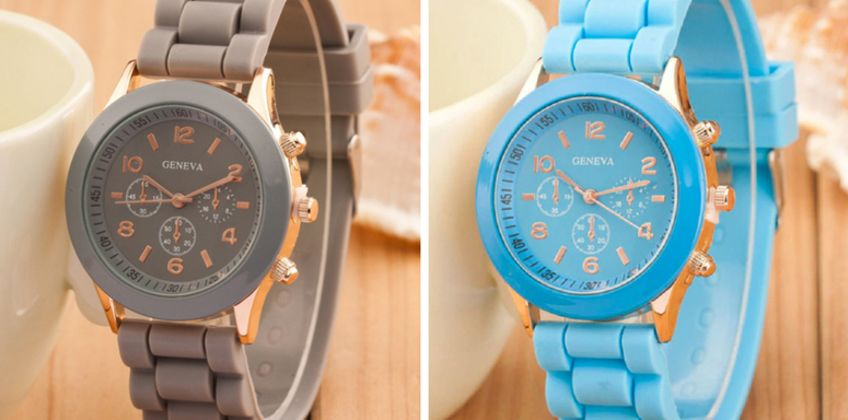 £4.99 instead of £19.99 (from Secret Storz) for a silicone watch - save 75% from Wowcher