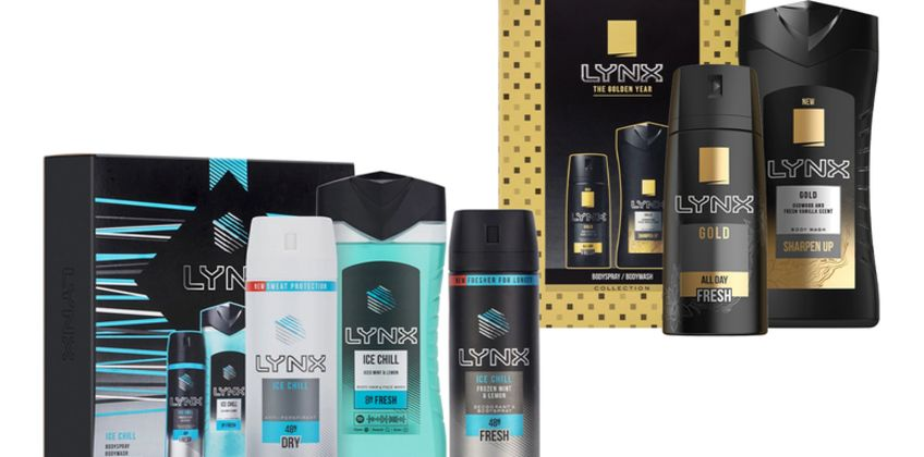 £9.99 instead of £36.98 (from Avant Garde) for two Lynx gift sets - save 73% from Wowcher
