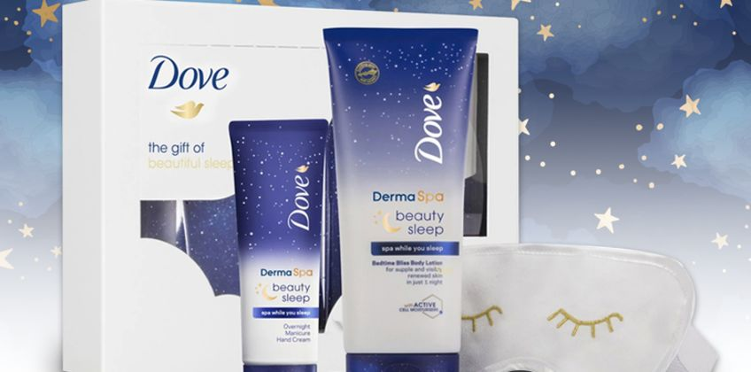 £9.99 instead of £22.99 (from Avant Garde) for a Dove gift of beauty sleep gift set - save 57% from Wowcher