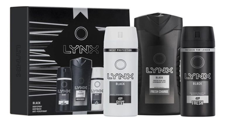 From £4.99 for 1 or 2 Lynx Black Gift Sets - Duo or Trio from Avant-Garde Brands Ltd - save up to 71% from Wowcher