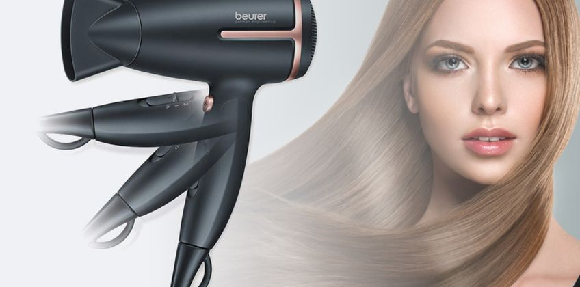 £19 instead of £29.99 for a Beurer Style Pro travel hair dryer - save 37% from Wowcher