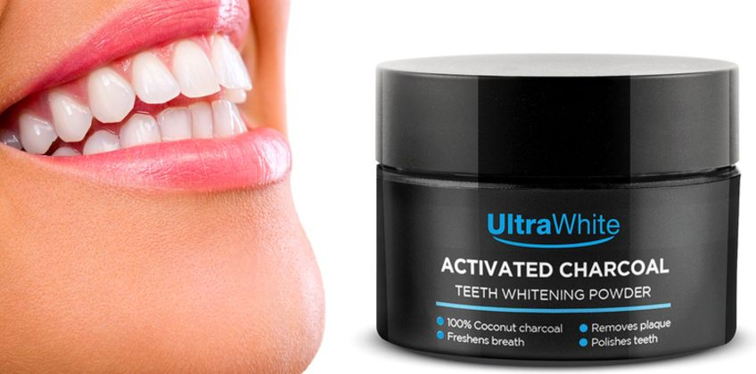 £8.99 instead of £19.99 (from CJ Offers) for 100g of activated coconut charcoal teeth-whitening powder - save 55% from Wowcher