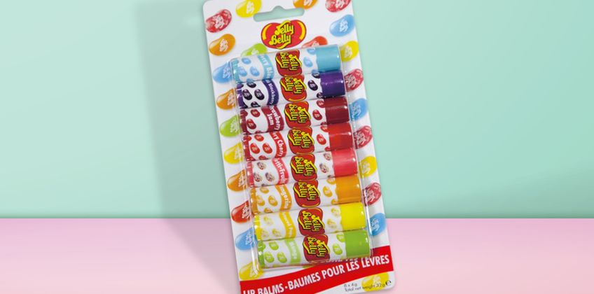£7.99 instead of £10 (from Lily Lisa) for a set of eight Jelly Belly lip balms - save 20% from Wowcher
