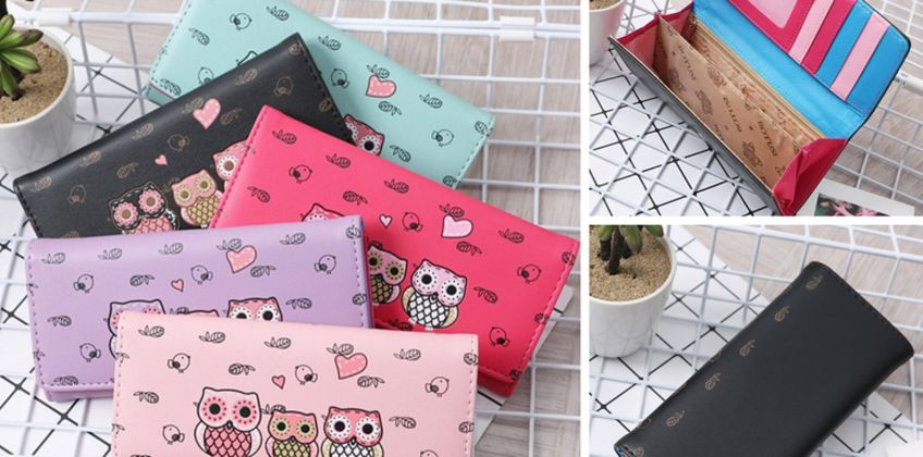£4.99 instead of £19.99 (from WowWhatWho) for a cartoon owl wallet - save 75% from Wowcher