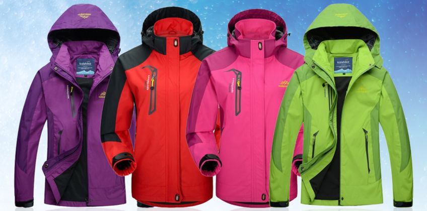£19 instead of £59.99 (from Pinkpree) for a women's windbreaker waterproof jacket - save 68% from Wowcher