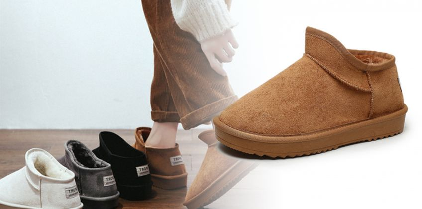 £13.99 instead of £39.99 (from Hey4Beauty) for a pair of short plush snow boots - save 65% from Wowcher