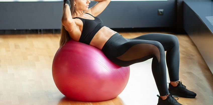 From £6.99 (from Hey4Beauty) for an anti-burst exercise ball, or £8.99 for an exercise ball with a foot pump - choose from five colours and three sizes  from Wowcher