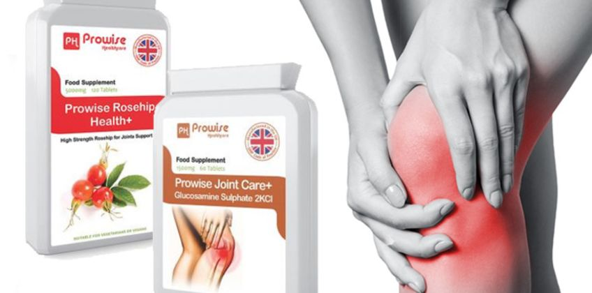 £14.99 (from Prowise Healthcare) for a joint care supplement bundle  from Wowcher