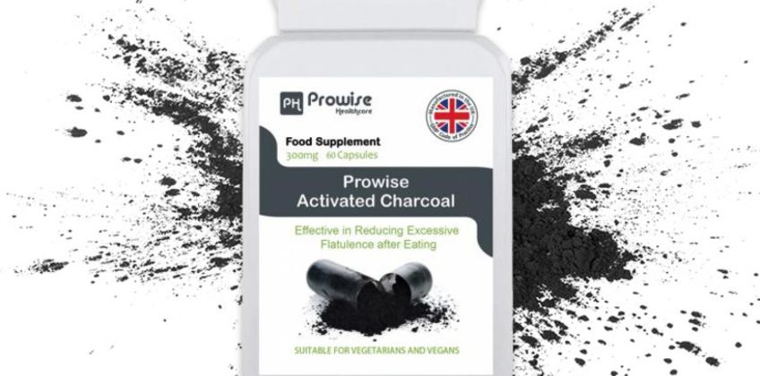 £7.99 instead of £29.99 (from Prowise) for a one-month* supply of activated charcoal capsules – save 73%  from Wowcher
