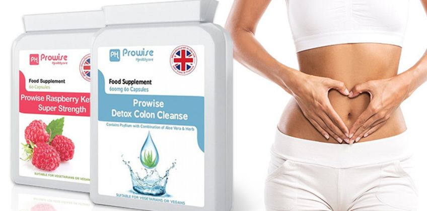 From £12.99 for one month, £16.99 for two months, £23.99 for three months of raspberry ketones and detox colon cleanse capsules from PROWISE HEALTHCARE LTD - save up to 68% from Wowcher